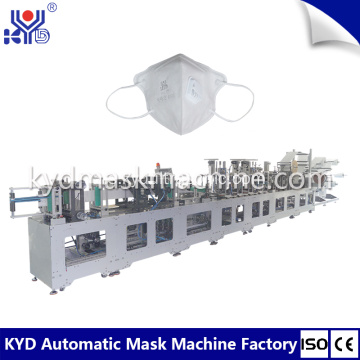Membuang 2D Folding Dust Mask Making Machine